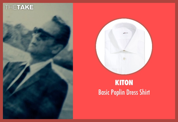 Kiton white shirt from The Man from U.N.C.L.E. seen with Unknown Actor (Unknown Character)