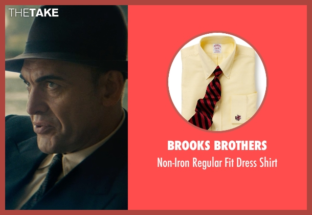 Brooks Brothers yellow shirt from The Man from U.N.C.L.E. seen with Unknown Actor (Unknown Character)