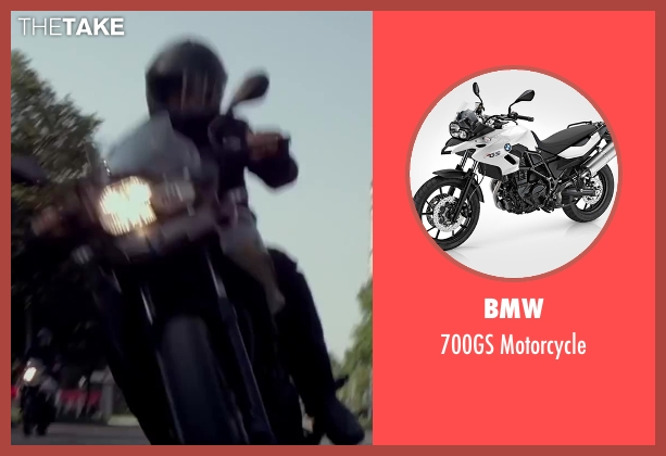 BMW motorcycle from The November Man seen with Unknown Actor (Unknown Character)