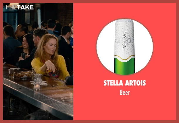 Stella Artois beer from The Other Woman seen with Unknown Actor (Unknown Character)