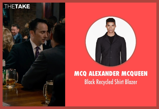 Mcq Alexander Mcqueen black blazer from The Other Woman seen with Unknown Actor (Unknown Character)