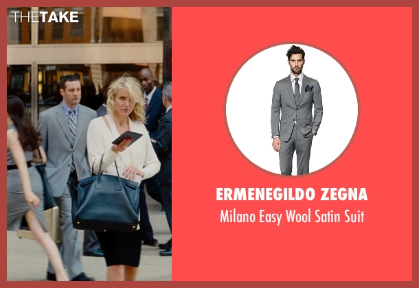 Ermenegildo Zegna gray suit from The Other Woman seen with Unknown Actor (Unknown Character)