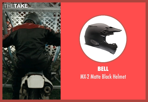 Bell helmet from The Place Beyond The Pines seen with Unknown Actor (Unknown Character)