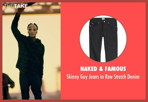 Naked & Famous black denim from The Purge: Anarchy seen with Unknown Actor (Unknown Character)