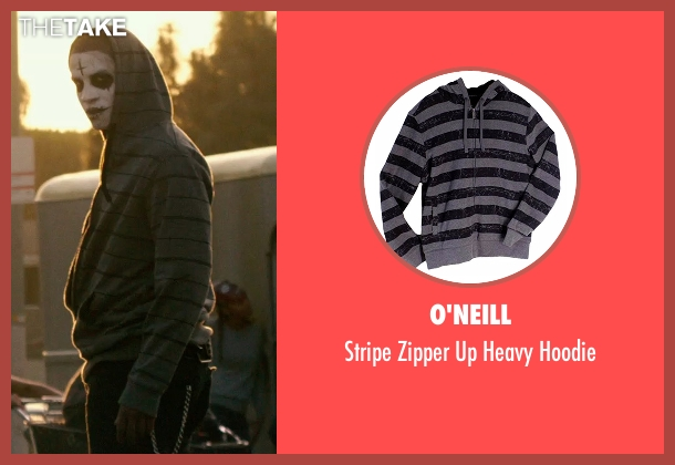 O'Neill gray hoodie from The Purge: Anarchy seen with Unknown Actor (Unknown Character)