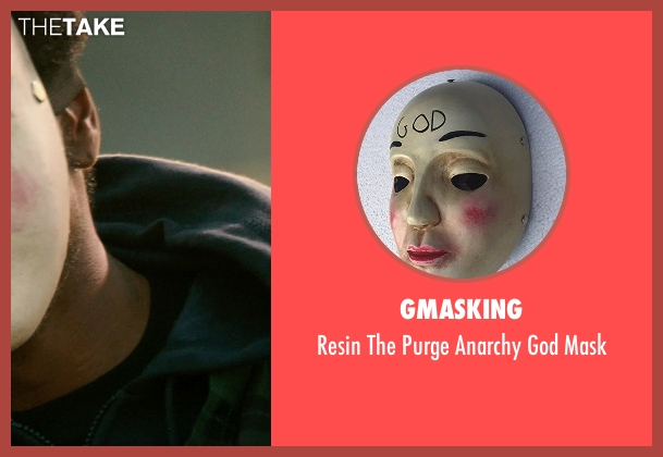 Gmasking mask from The Purge: Anarchy seen with Unknown Actor (Unknown Character)