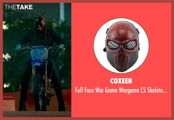 Coxeer mask from The Purge: Anarchy seen with Unknown Actor (Unknown Character)