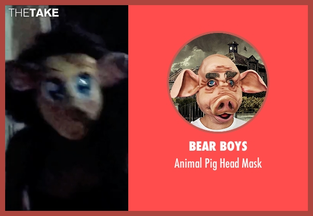 Bear Boys mask from The Purge: Election Year seen with Unknown Actor (Unknown Character)