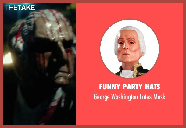Funny Party Hats mask from The Purge: Election Year seen with Unknown Actor (Unknown Character)