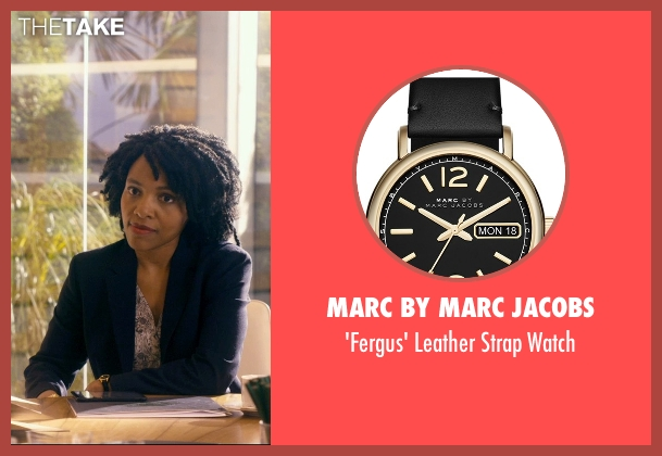Marc by Marc Jacobs black watch from The Second Best Exotic Marigold Hotel seen with Unknown Actor (Unknown Character)