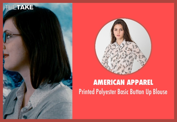 American Apparel beige blouse from The Secret Life of Walter Mitty seen with Unknown Actor (Unknown Character)