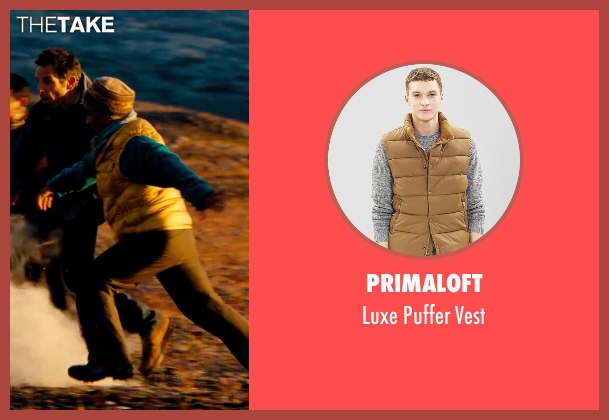 Primaloft beige vest from The Secret Life of Walter Mitty seen with Unknown Actor (Unknown Character)