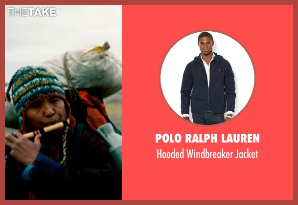 Polo Ralph Lauren blue jacket from The Secret Life of Walter Mitty seen with Unknown Actor (Unknown Character)