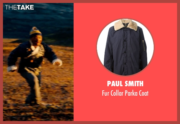 Paul Smith coat from The Secret Life of Walter Mitty seen with Unknown Actor (Unknown Character)