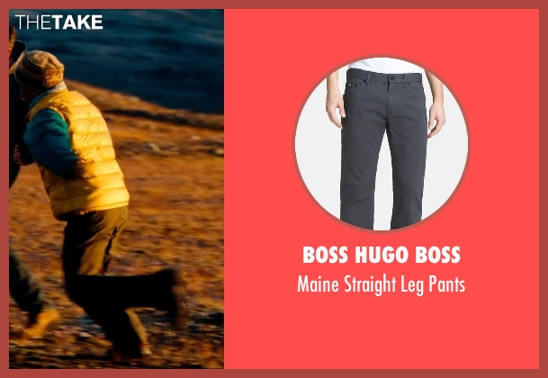 Boss Hugo Boss gray pants from The Secret Life of Walter Mitty seen with Unknown Actor (Unknown Character)