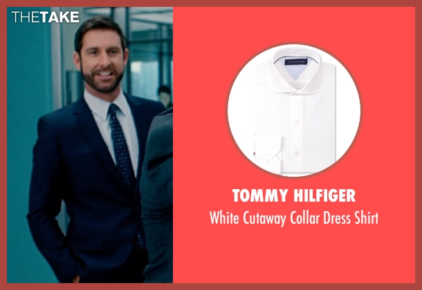 Tommy Hilfiger white shirt from The Secret Life of Walter Mitty seen with Unknown Actor (Unknown Character)