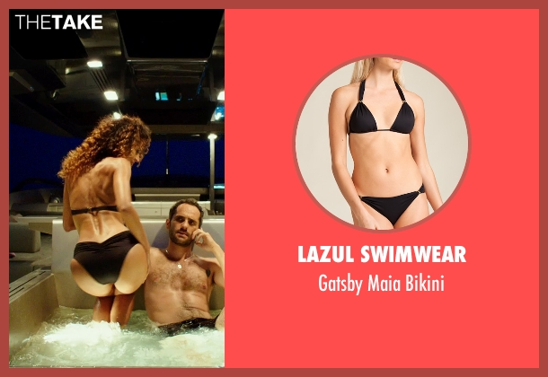 Lazul Swimwear black bikini from The Transporter: Refueled seen with Unknown Actor (Unknown Character)