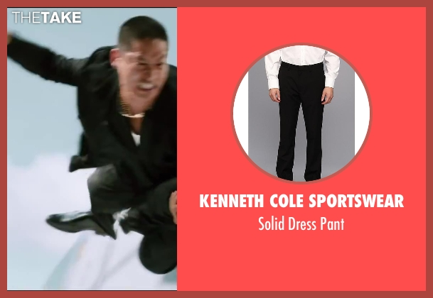 Kenneth Cole Sportswear black pant from The Wolverine seen with Unknown Actor (Unknown Character)