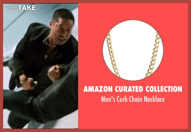 Amazon Curated Collection gold necklace from The Wolverine seen with Unknown Actor (Unknown Character)