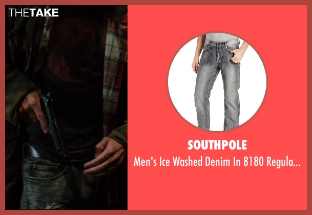 Southpole gray jeans from The Wolverine seen with Unknown Actor (Unknown Character)