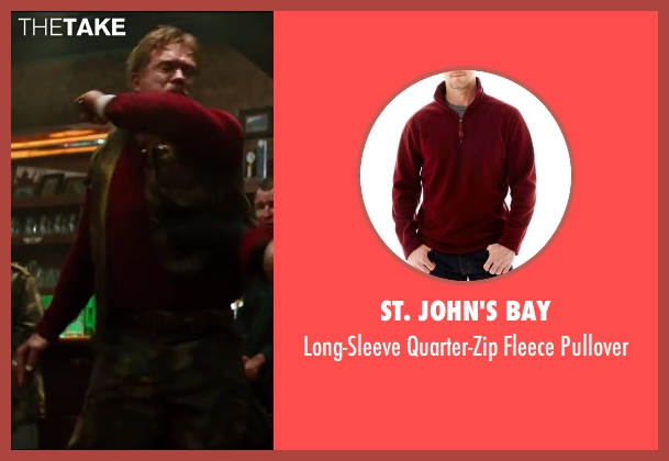 St. John's Bay red pullover from The Wolverine seen with Unknown Actor (Unknown Character)