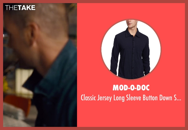 Mod-O-Doc blue shirt from Trainwreck seen with Unknown Actor (Unknown Character)