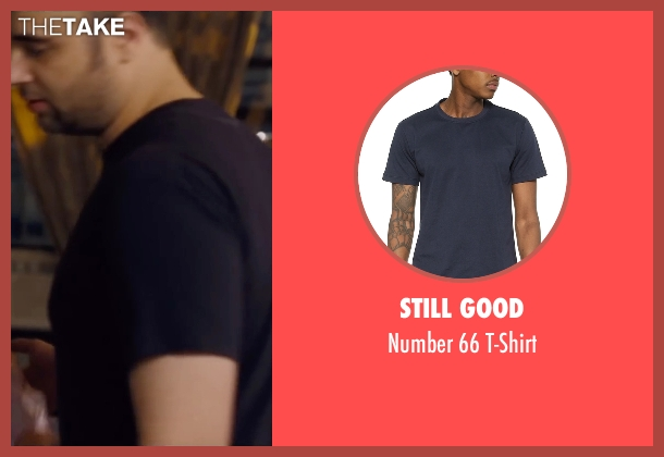 Still Good blue t-shirt from Trainwreck seen with Unknown Actor (Unknown Character)