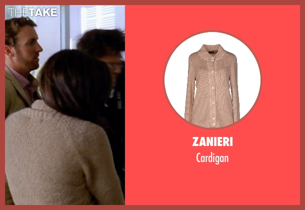 ZANIERI beige cardigan from Transcendence seen with Unknown Actor (Unknown Character)