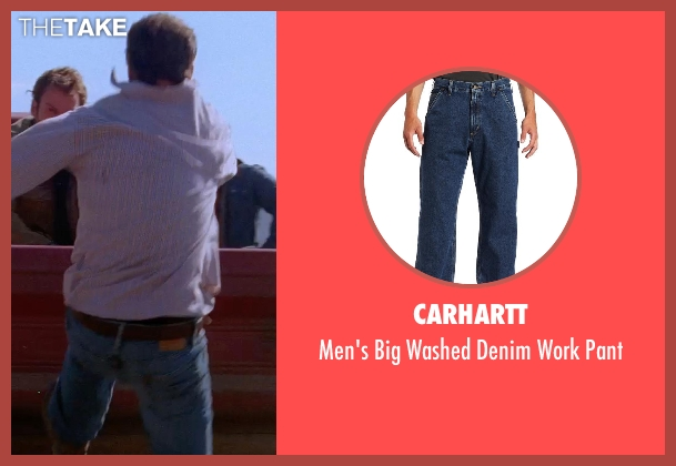 Carhartt blue pant from Transcendence seen with Unknown Actor (Unknown Character)