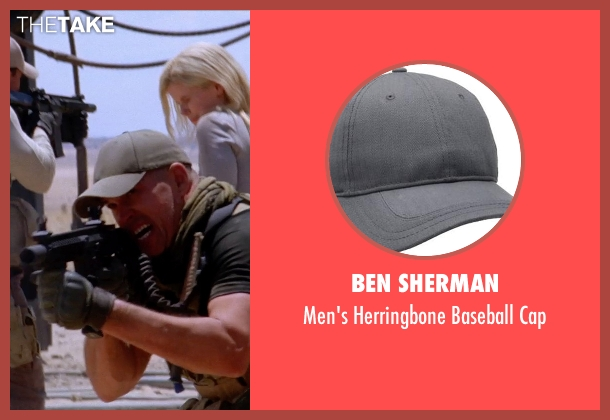 Ben Sherman gray cap from Transcendence seen with Unknown Actor (Unknown Character)