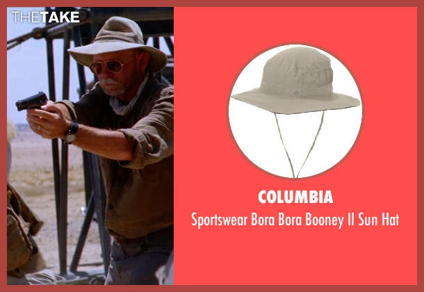 Columbia hat from Transcendence seen with Unknown Actor (Unknown Character)
