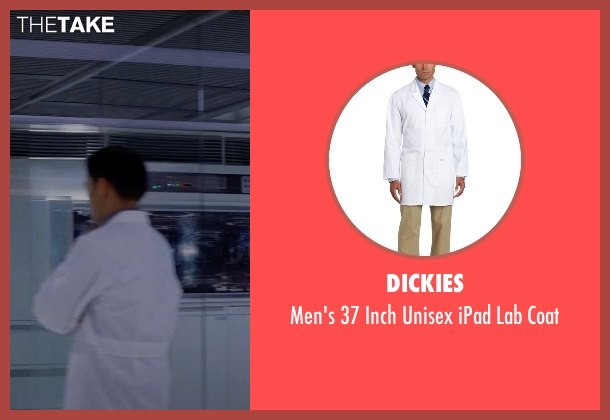 Dickies white coat from Transcendence seen with Unknown Actor (Unknown Character)