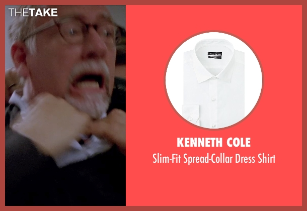 Kenneth Cole white shirt from Transcendence seen with Unknown Actor (Unknown Character)