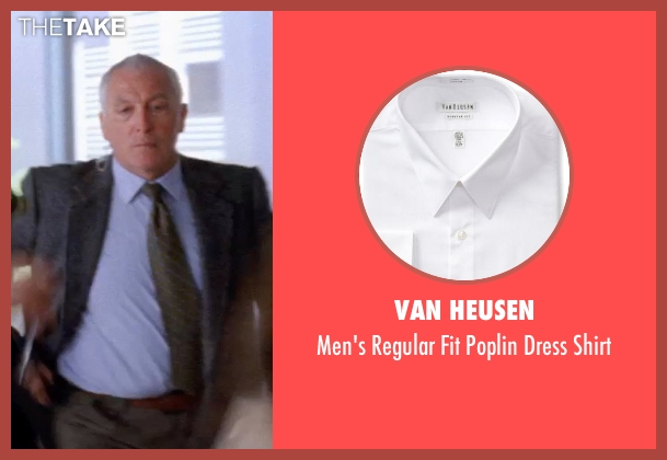 Van Heusen white shirt from Transcendence seen with Unknown Actor (Unknown Character)