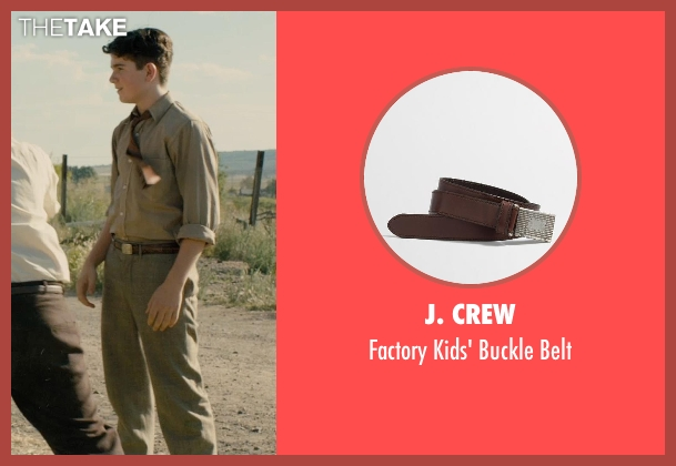 J. Crew belt from Unbroken seen with Unknown Actor (Unknown Character)