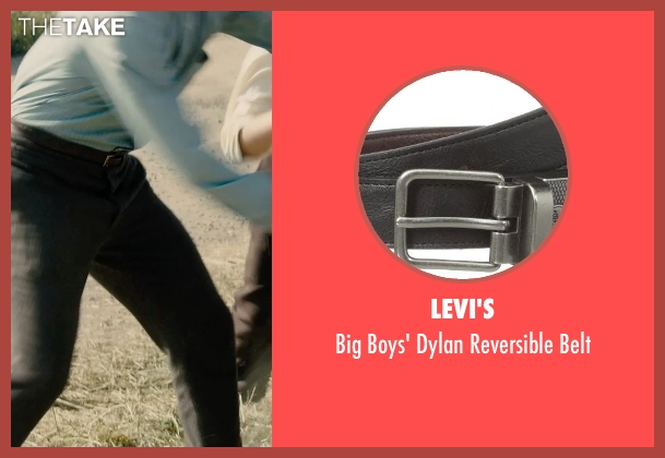 Levi's black belt from Unbroken seen with Unknown Actor (Unknown Character)