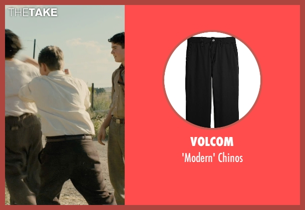 Volcom black chinos from Unbroken seen with Unknown Actor (Unknown Character)
