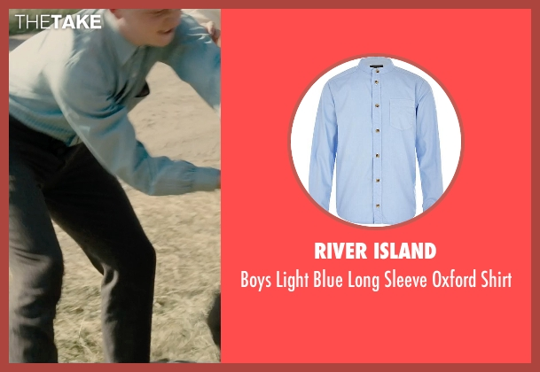 River Island blue shirt from Unbroken seen with Unknown Actor (Unknown Character)