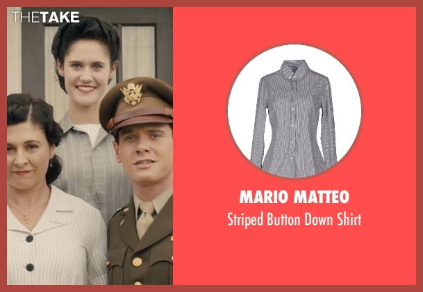 Mario Matteo gray shirt from Unbroken seen with Unknown Actor (Unknown Character)