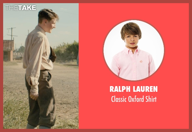 Ralph Lauren pink shirt from Unbroken seen with Unknown Actor (Unknown Character)