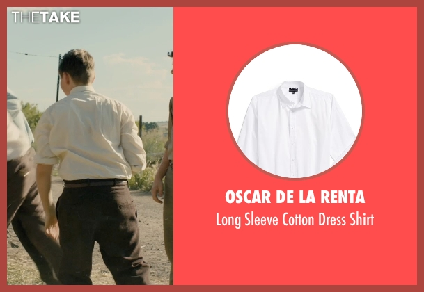 Oscar de la Renta white shirt from Unbroken seen with Unknown Actor (Unknown Character)