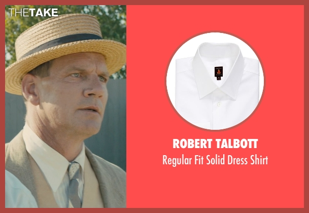 Robert Talbott white shirt from Unbroken seen with Unknown Actor (Unknown Character)