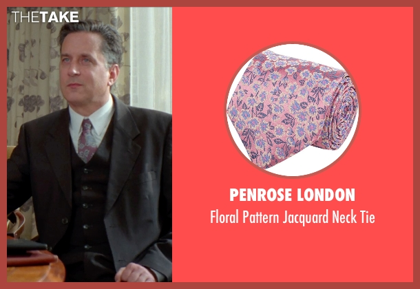 Penrose London pink tie from Unfinished Business seen with Unknown Actor (Unknown Character)