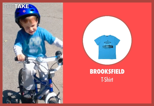 Brooksfield blue t-shirt from Unfriended seen with Unknown Actor (Unknown Character)