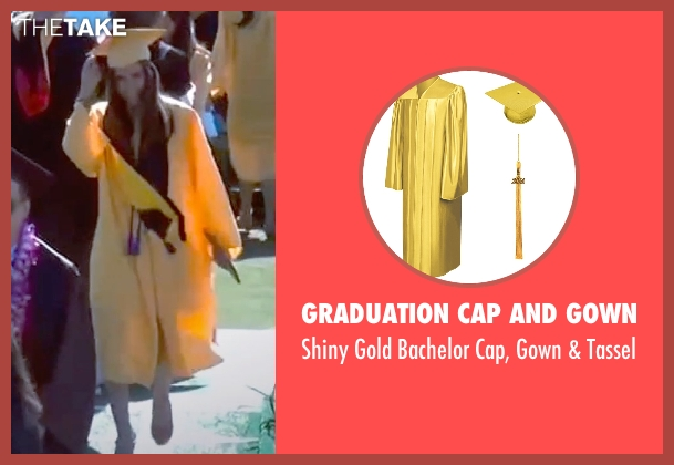 Graduation Cap And Gown tassel from Unfriended seen with Unknown Actor (Unknown Character)