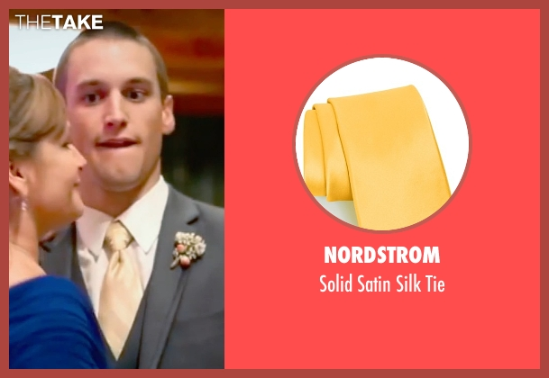 Nordstrom yellow tie from Unfriended seen with Unknown Actor (Unknown Character)