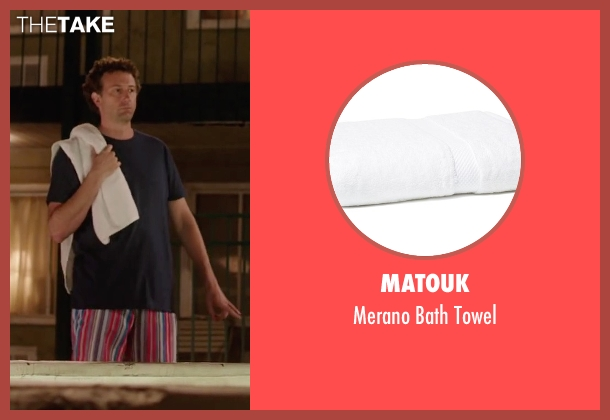 Matouk towel from Vacation seen with Unknown Actor (Unknown Character)