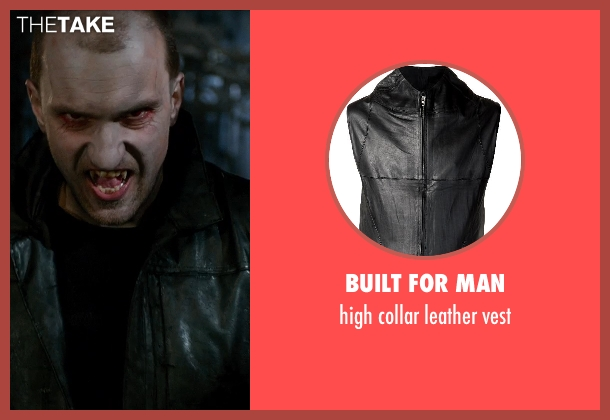 BUILT FOR MAN black vest from Vampire Academy seen with Unknown Actor (Unknown Character)