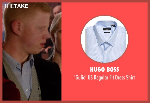 Hugo Boss blue shirt from Vampire Academy seen with Unknown Actor (Unknown Character)