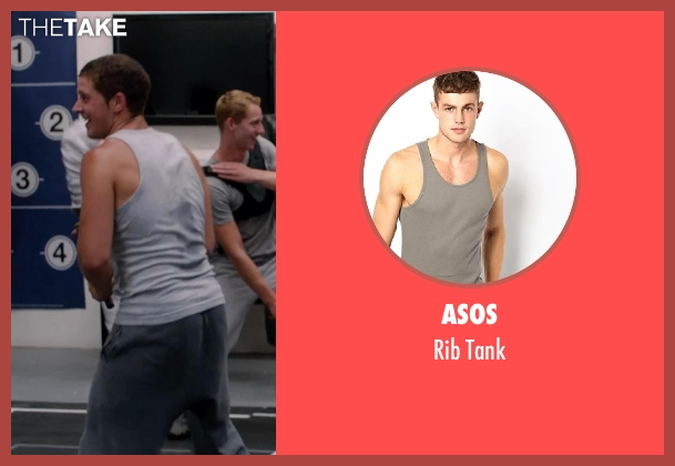 ASOS gray tank from Vampire Academy seen with Unknown Actor (Unknown Character)